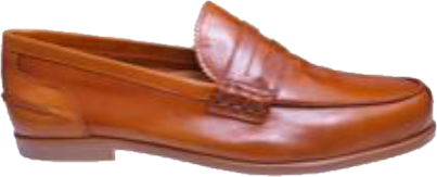 Papanatas Brown Leather Loafer 7457