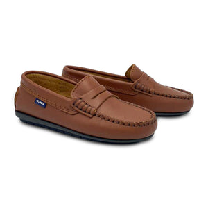 Atlanta Moccasin Tan Penny Loafer 18377