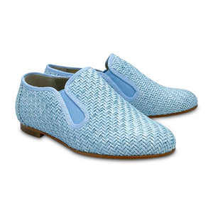 LMDI EX X LS Sky Blue Basket Smoking Shoe 137159