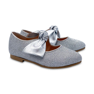 Ruth Secret Silver Irid Bow Ballet 3304-21