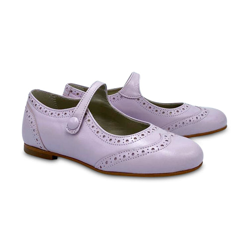 Geppetto's ES X LS Lilac Wingtip Mary Jane 138739