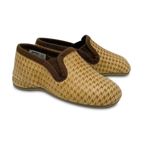 Pepe' ES X LS Arizona Cognac Houndstooth Slip On 280-21