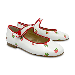 Brunellis ES X LS Strawberry Printed Mary Jane 3200