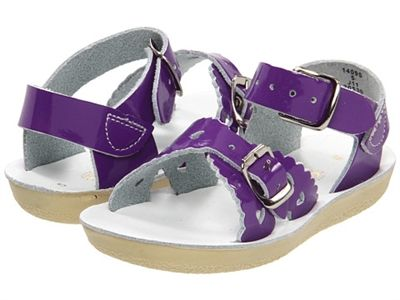 Salt Water Purple Sweetheart Sandal