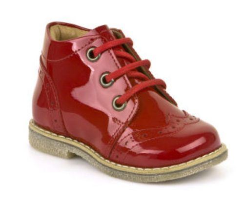 Froddo Red Patent Leather First Walker