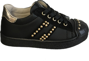 Shoe B 76 Black Gold Sneaker 1945