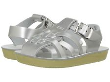 Salt Water Silver Sailor Sandal
