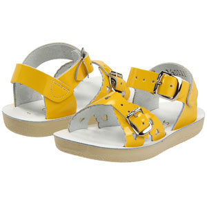 Salt Water Yellow Sweetheart Sandal