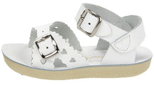 Salt Water White Sweetheart Sandal