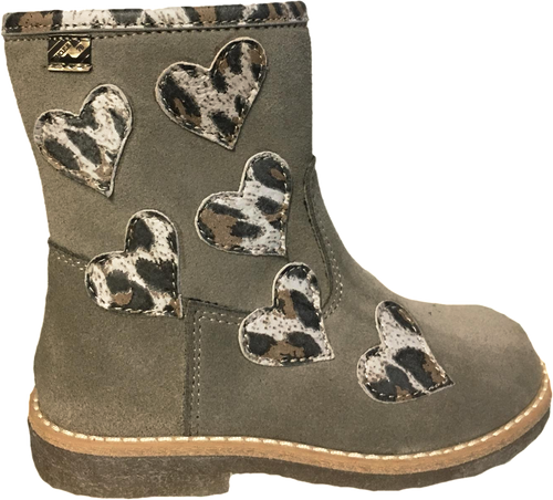 Shoe B 76 Taupe Heart Boot 1981