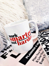 Load image into Gallery viewer, Work Smarter Coffee Mug - Mystical Berries