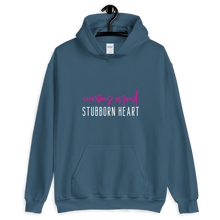 Load image into Gallery viewer, Curious Mind Stubborn Heart Hoodie - Mystical Berries