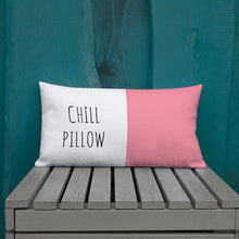 Load image into Gallery viewer, Chill Pink & White Pillow - Mystical Berries