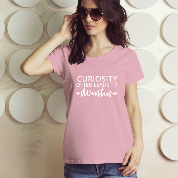 Curiosity Leads To Adventure Short-Sleeve T-Shirt - Mystical Berries