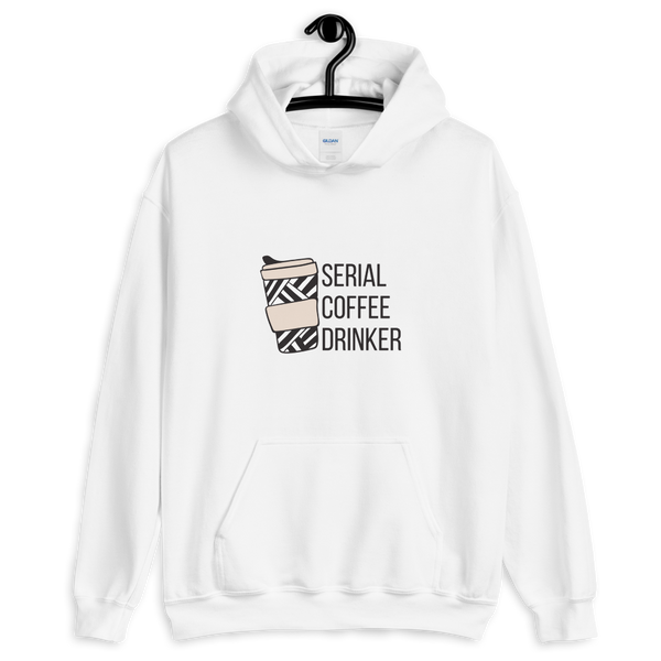 Serial Coffee Drinker Hoodie - Mystical Berries