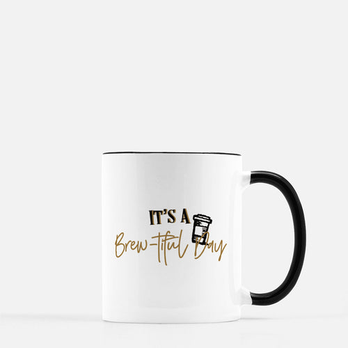 Brew-tiful Day 11oz Coffee Mug - Mystical Berries