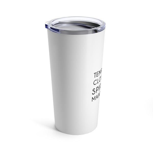 Closed For Spiritual Maintenance Stainless Steel Coffee Tumbler - Mystical Berries