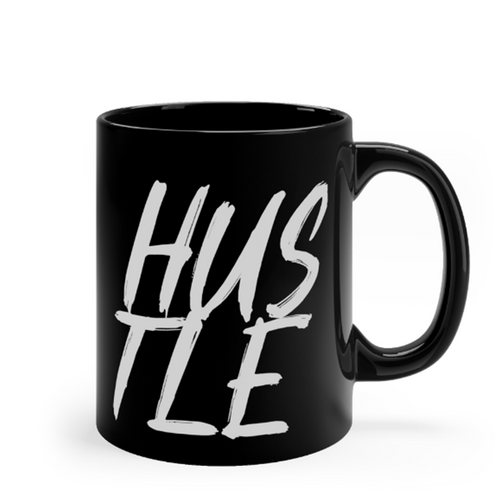 Hustle Black 11oz Mug - Mystical Berries