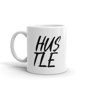 Hustle White 11oz Coffee Mug - Mystical Berries