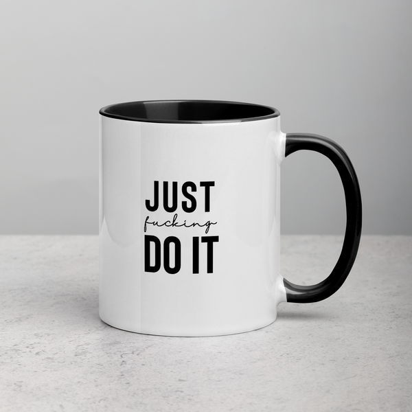 Just Ducking Do It Coffee Mug - Mystical Berries