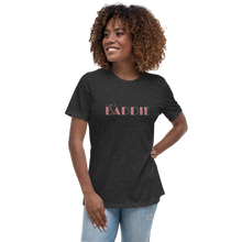 Load image into Gallery viewer, I Am Baddie Relaxed Fit Women's Cotton T-Shirt - Mystical Berries