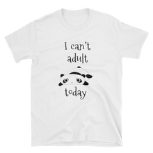 Load image into Gallery viewer, I Can't Adult Today Cotton Tee - Mystical Berries