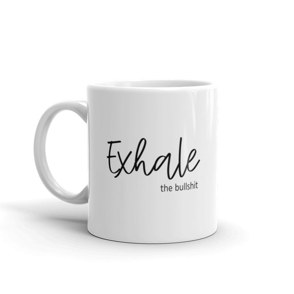 Inhale Exhale Coffee Mug - Mystical Berries
