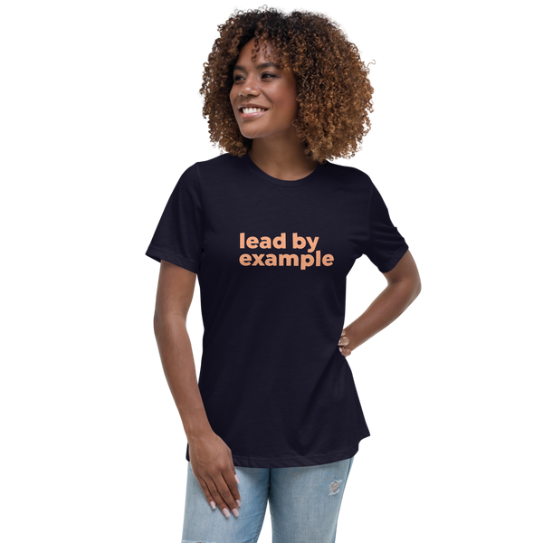 Lead By Example Women's Relaxed T-Shirt - Mystical Berries