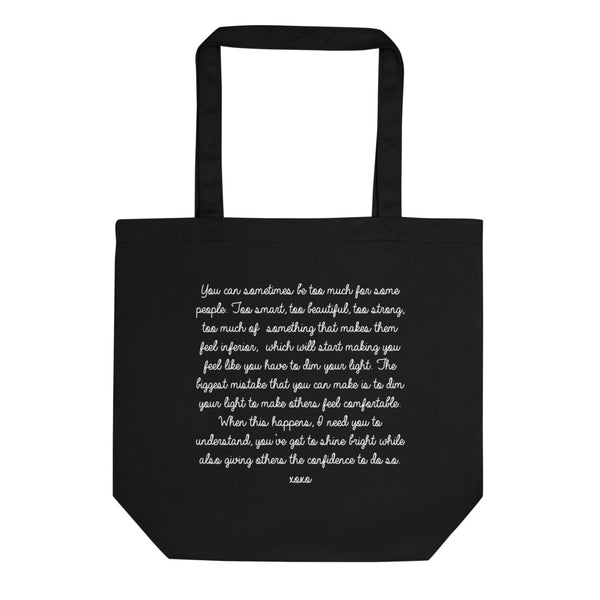 Strong Women - Shine Loud & Proud Eco Friendly Tote Bag - Mystical Berries