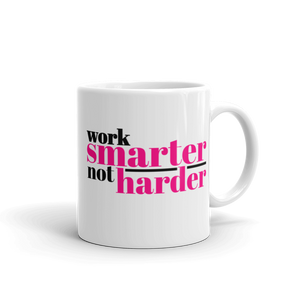 Work Smarter Coffee Mug - Mystical Berries