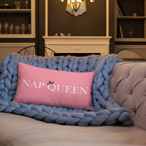 Nap Queen Pink Pillow - Mystical Berries