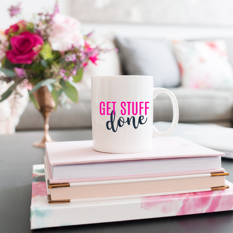 Get Stuff Done Coffee Mug - Mystical Berries