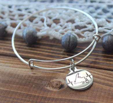 Newfoundland Heartbeat Bangle