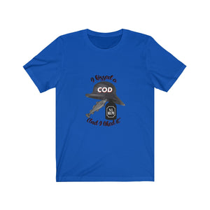 Screeched in Newfoundland Unisex T-shirt - I kissed a cod & I liked it
