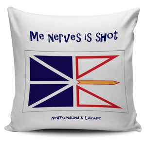 Me nerves is shot Newfoundland Pillow Cover - PP.11567540