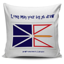 Load image into Gallery viewer, Long may your big jib draw - Newfoundland pillow cover - PP.11567584
