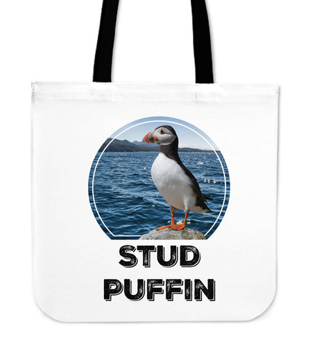 Stud Puffin Tote Bag - PP.11940777