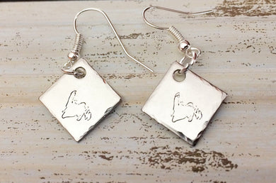 Newfoundland Handmade Stainless Steel Earrings