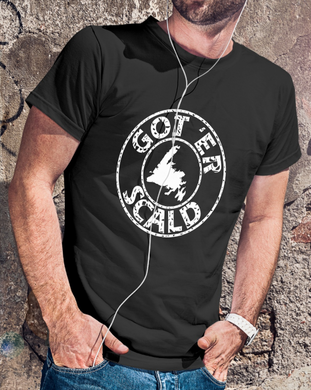 Got 'Er Scald Newfoundland Unisex T-shirt Sizes S - 5XL 8 Colors