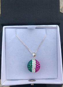 Republic of Newfoundland  Crystal Ball Necklace