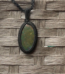 Labradorite necklace -Oval (Medium)
