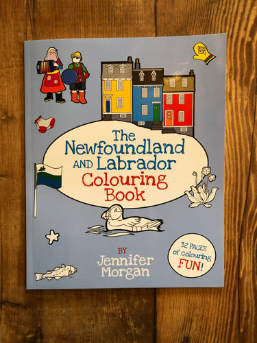 Newfoundland and Labrador Colouring Book