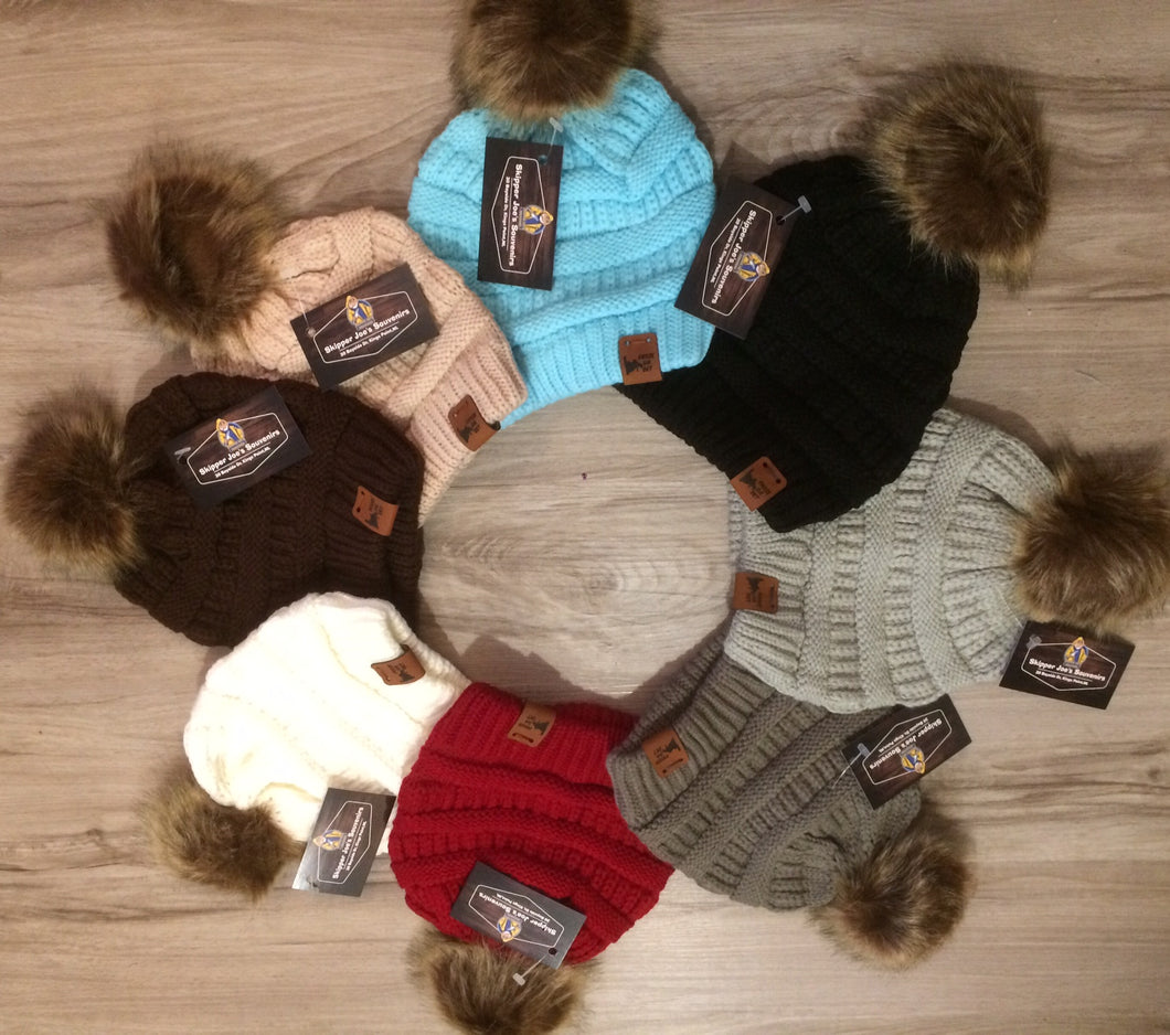CHILD Froze Da Det Newfoundland beanie wool hat