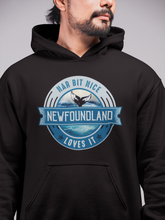 Load image into Gallery viewer, Nar Bit Nice Newfoundland Unisex Hoodie - Size S - 3XL - 12 Colors