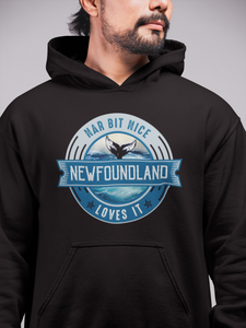 Nar Bit Nice Newfoundland Unisex Hoodie - Size S - 3XL - 12 Colors