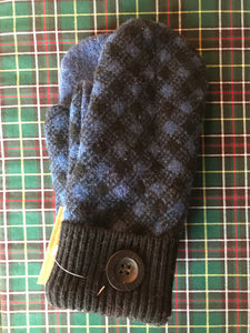 Recycled Wood Sweater Mittens