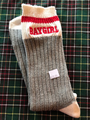 BAYGIRL Embroidered Socks