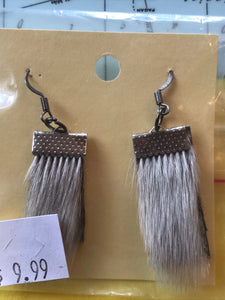 Seal Skin Earrings Earrings - 3 styles