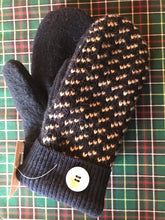 Load image into Gallery viewer, Recycled Wood Sweater Mittens