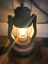 Load image into Gallery viewer, Hand Carved Wooden Lantern